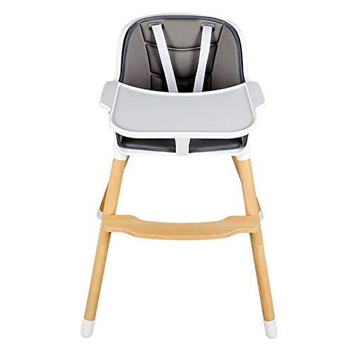 Lowest Price! YZCM Baby Chair, Wooden High Chair, Convertible to Heightened Dining Chair, with Remov...