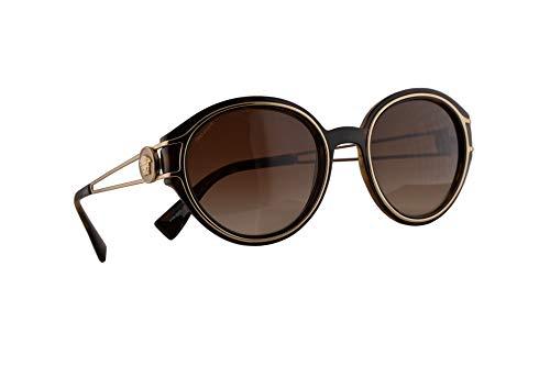 Versace VE4342 zonnebril, lichtbruin, met bruine glazen, 53 mm, 10813 VE 4342