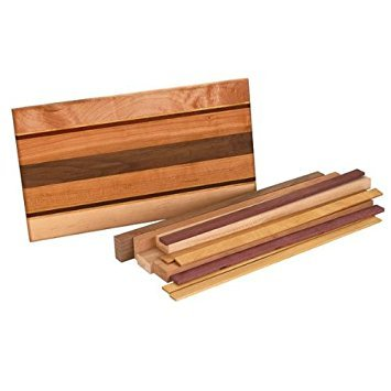 Woodworking Project Kit for Cafe Cutting Board
