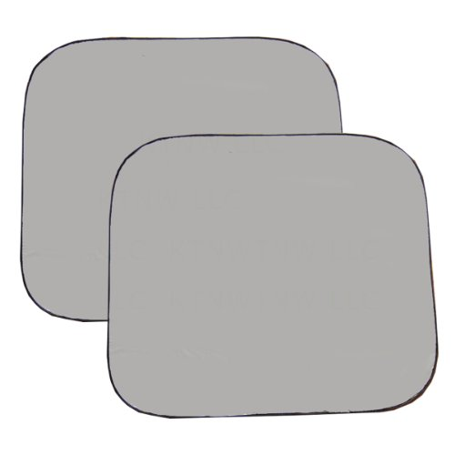 Auto Expressions Two Piece Spring Front RV Windshield Sunshade - Silver