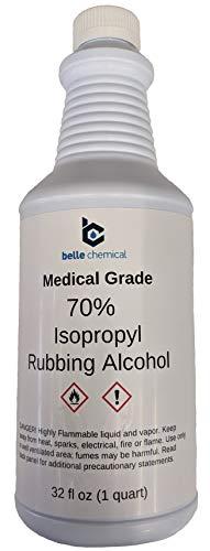 Medical Grade Isopropyl Alcohol 70% (32oz)