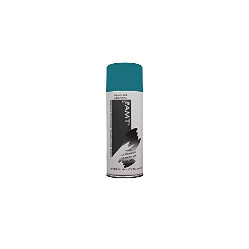 AMT Peinture aérosol Bleu Canard Mat