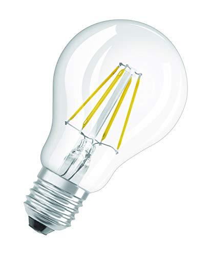 OSRAM Goccia Lampadina LED, 12 W Equivalenti 100 W, Attacco E27, Luce Naturale 4000K, Confezione da 1 Pezzo
