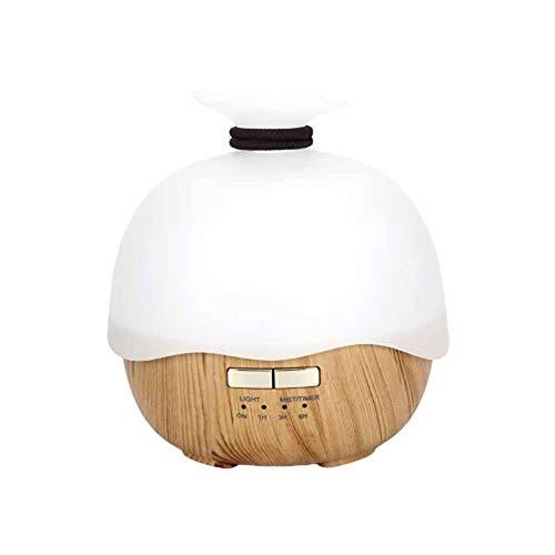PLBB3K Humidificador USB Aroma difusor humidificador Aire aromaterapia purificador hogar Aire humidificador-Amarillo Humidificador (Color : Yellow)