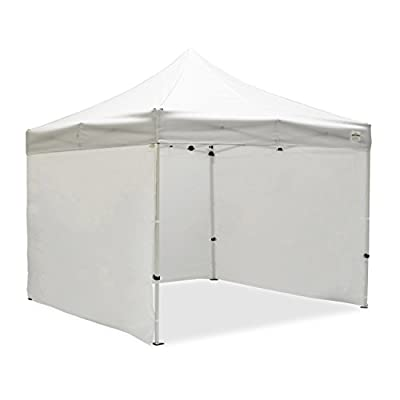 Caravan Canopy Sports Commercial Grade Sidewalls, 10 x 10-Feet, white