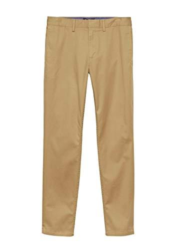 BANANA REPUBLIC Men's Fulton Skinny Fit Stretch Chinos (36x34, Acorn)