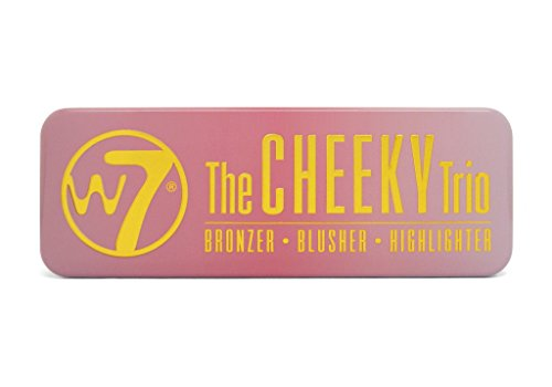 W7 | Face Palette | THE CHEEKY TRIO TIN