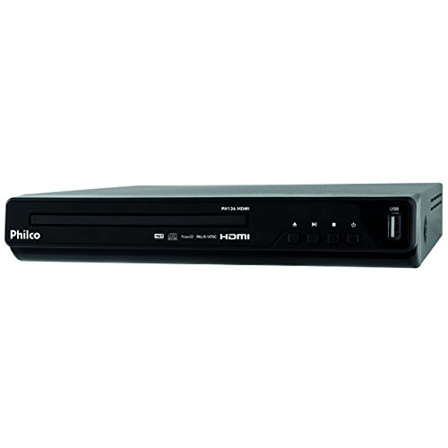 DVD Player, Philco PH136 HDMI, Preto