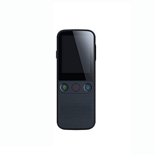 LIZONGFQ Intelligent Voice Translator 137 Online Multi-Language Traducción sin conexión en tiempo real en tiempo real Traducción sin conexión AI Learning Conversion, Negro