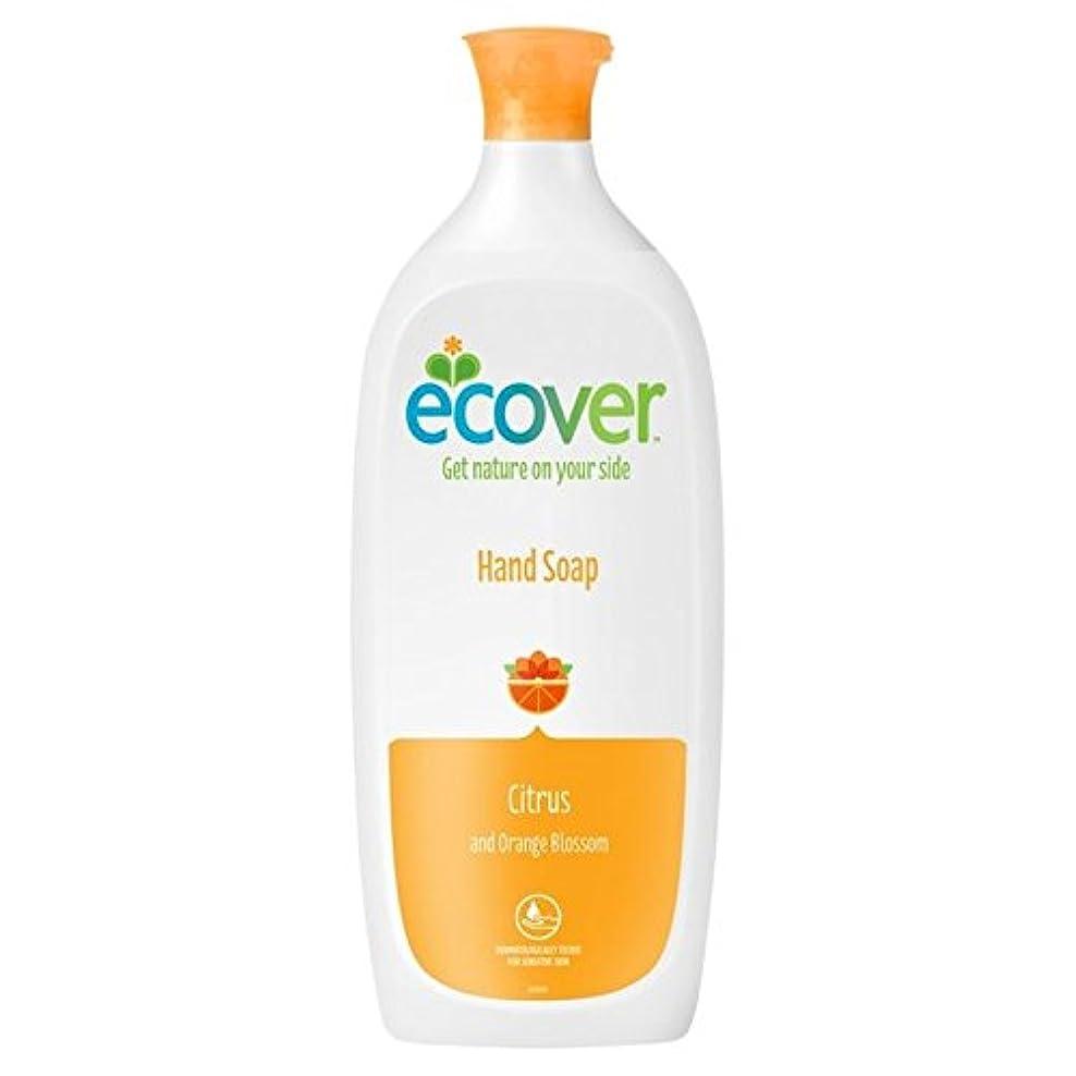 誰の追加水差しエコベール液体石鹸シトラス&オレンジの花のリフィル1リットル x4 - Ecover Liquid Soap Citrus & Orange Blossom Refill 1L (Pack of 4) [並行輸入品]