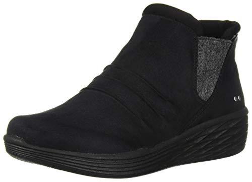 Ryka Women's NIAH Ankle Boot, Black, 7.5 M US