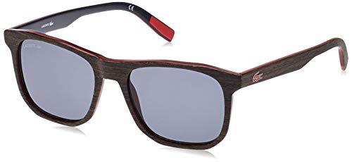 Lacoste L601SND, Acetate Occhiali da Sole Brown Wood Unisex Adulto, Multicolore, Standard