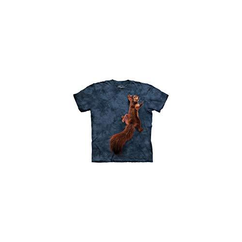 The Mountain Unisex Kinder Gr. S Frieden Eichhoernchen T Shirt