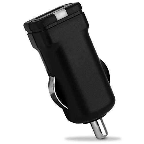 subtel Cargador de Coche USB 12V Compatible con Tomtom - 1 USB Port, Adaptador de Carga USB de Coche