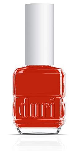 duri Nail Polish, 753 Humble Brag, Elegant Red, Opaque Coverage, 0.5 fl.oz.