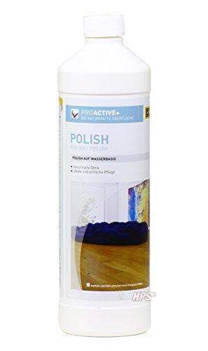 ProActive Polish - 1Liter - Pflegemittel für matt versiegeltes Weitzer Parkett - Universell Einsetzbar für matt versiegelte Parkettböden - Pflegt und Regeneriert.