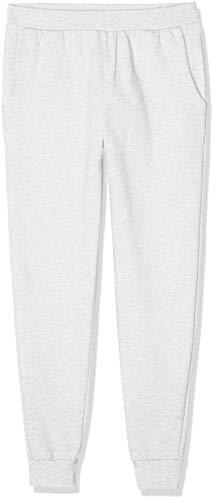 Marchio Amazon - find. Pantaloni Sportivi Regular Fit Uomo, Grigio (Light Grey Marl), L, Label: L