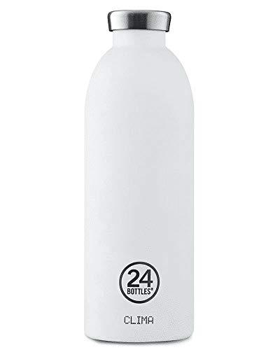 24Bottles Clima gourde 850 ml Utilisation quotidienne Noir, Blanc Acier inoxydable