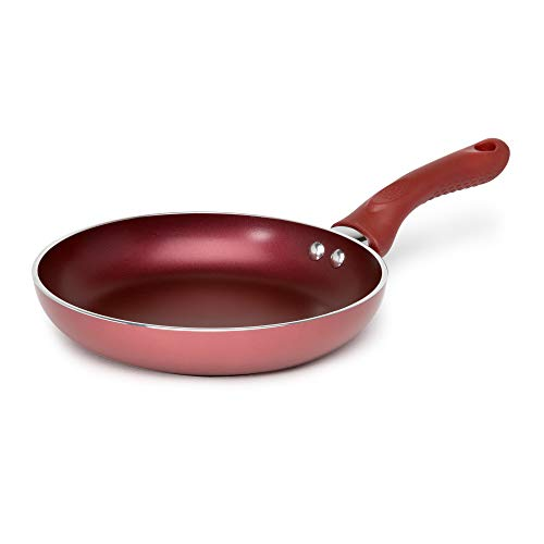Ecolution Evolve Non-Stick Fry Pan PFOA Free Hydrolon Non-Stick -Pure Heavy-Gauge Aluminum with a Soft Silicone Handle