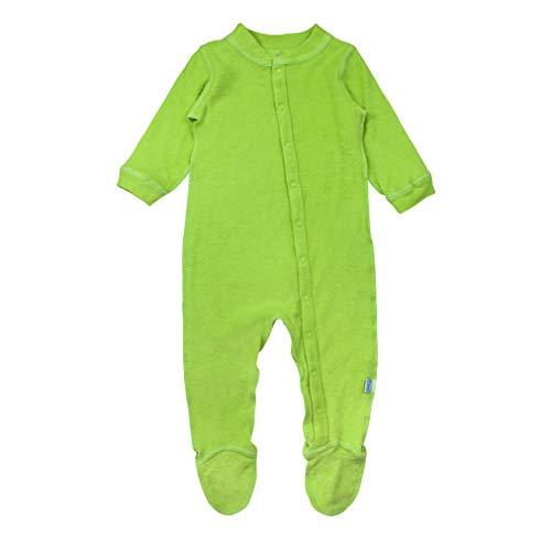 i play. Pyjama en Coton Organique Vert Clair 6-12 Mois