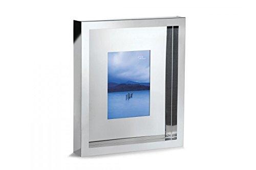 Philippi - LONELY PLANET - Bilderrahmen aus Edelstahl, - Format 10 x 15 cm - unglaublich besonderer Bilderrahmen mit tollen Spiegeleffekten - minimalistische Form in perfekter Qualität - erhältlich in 3 Größen