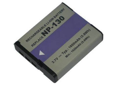 PowerSmart Batteria per Casio zr700we, Exilim fc300s, TRYX, NP 130, Casio Exilim EX H, ZR Serien