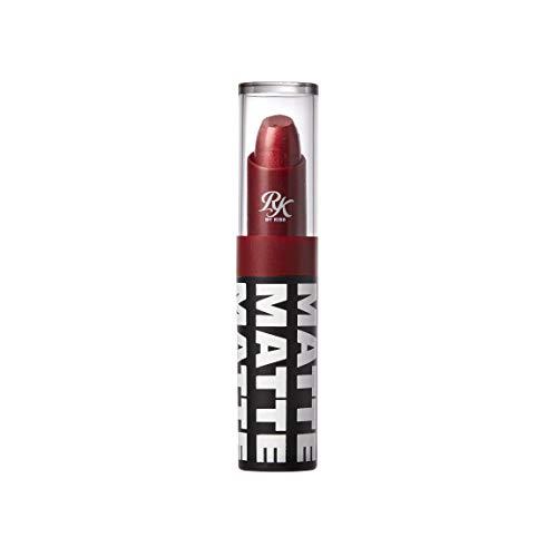 Ruby Kisses Matte Lipstick, 0.12 Ounce (METALLIC RED)