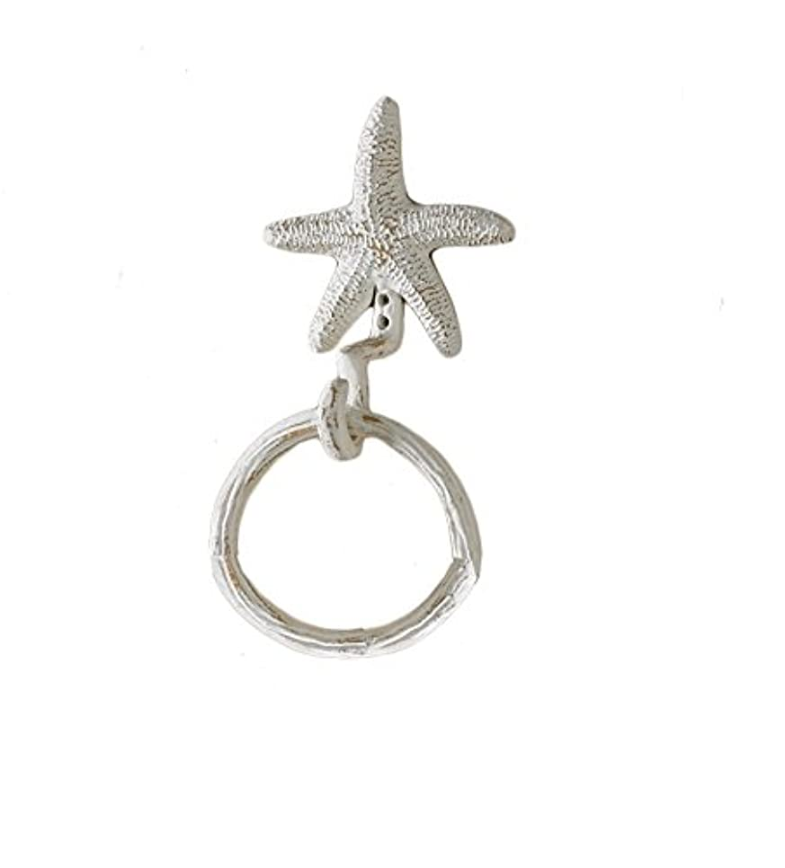 避ける複雑でない謝るPark Designs Starfish Ring Hook by Park Designs