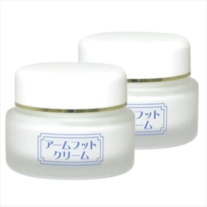粘り強いきらきら脚薬用デオドラントクリーム アームフットクリーム(20g) (2個セット)