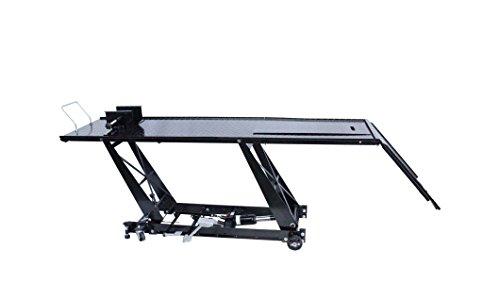 Table de levage extra longue pour motos 220+55cm - Pont élévateur -...