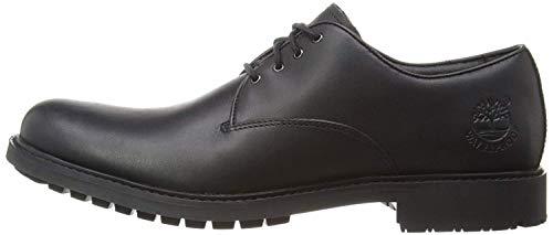 Timberland Herren Stormbuck Plain Toe Waterproof Oxford Schuhe, Schwarz (Black Smooth), 44.5 EU