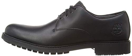 Timberland Stormbuck Waterproof Oxford, Zapatos para Hombre, Negro (Black Full-Grain), 44.5 EU