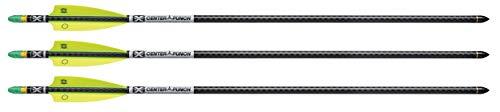 TenPoint EVO-X CenterPunch Alpha-Brite Carbon Arrows, 20 , 001