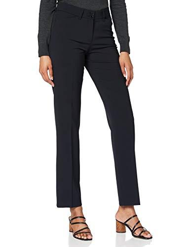 BRAX Celine Clean Wool Flatfront Feminine Fit Klassisch Pantaloni, Blu (Navy 22), 42 (Taglia Produttore: 36K) Donna