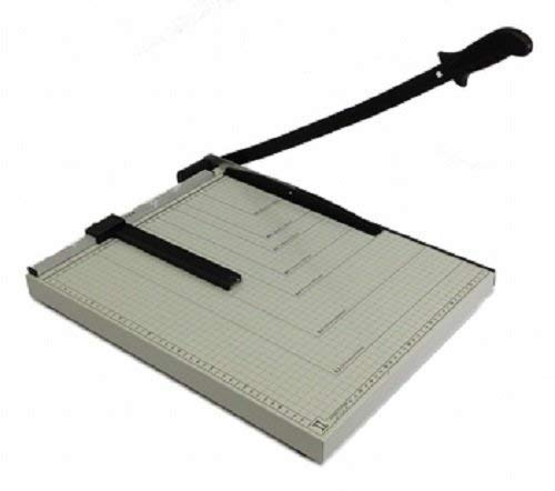 Paper Cutter Guillotine Style 18' Cut Length X 15' Inch Metal Base Trimmer