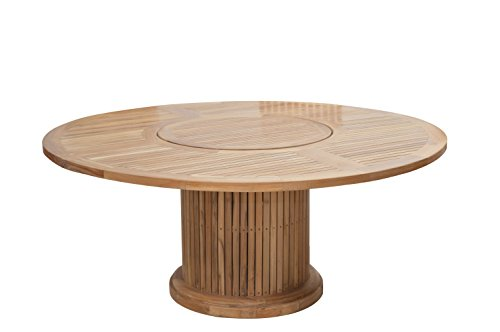 Ploß Outdoor furniture Phoenix Table, Naturel, 160 x 160 x 76 cm