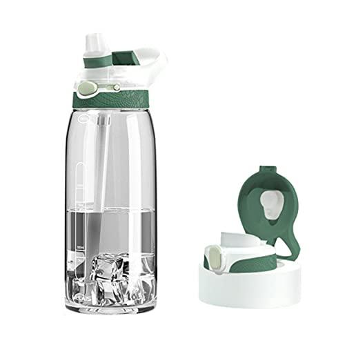 Surgewavelv Botella de Agua Botella de Agua Deportiva Sin BPA Botella de...