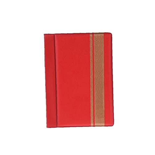 Nicedier 120 Bolsillos Portamonedas colección de Moneda Almacenamiento de Libros álbum para coleccionistas, Penny Dinero de Bolsillo RedBags Accesorios