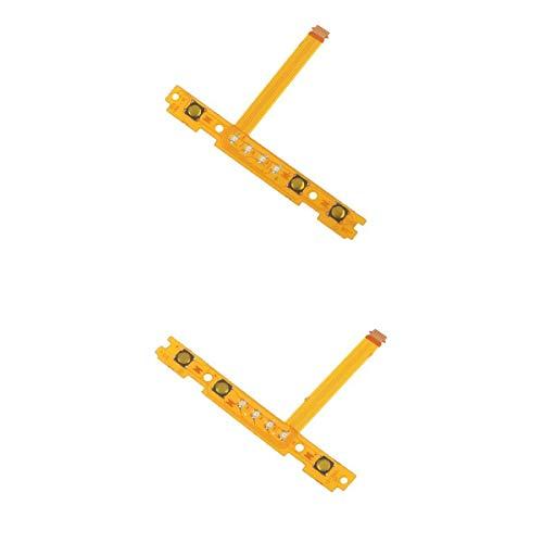 Substituição SL SR Chaves esquerda e direita Flex Cable Fix Parts para Nintendo Switch Joy-Con (L/R), pacote com 2