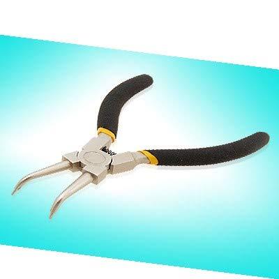 New Lon0167 Anillo de Destacados clip externo Alicates eficacia confiable de punta doblada Herramienta profesional Jelwelry(id:2a5 a5 05 247)