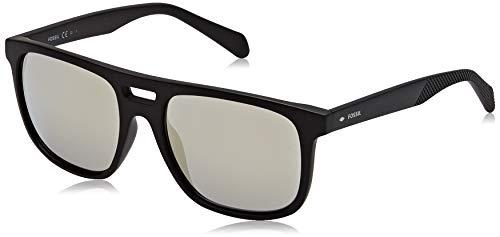 Fossil Herren FOS 3096/G/S Sonnenbrille, MTT SCHWARZ, 54