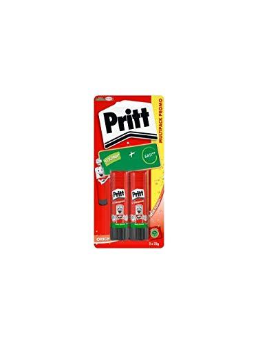 Pritt - Colla Pritt Stick Media 22 gr 2 pezzi - HENK-674245