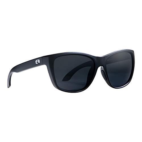 Rheos Sapelos Floating Polarized Sunglasses | 100% UV Protection | Floatable Shades | Ideal for Fishing and Boating | Anti-Glare | Unisex | Gunmetal | Gunmetal (Red Accent)