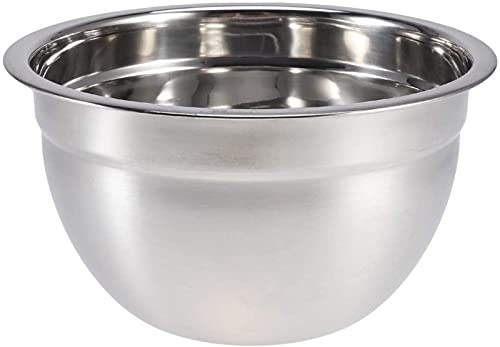 Prep bowls 5pcs Stainless Steel Mixing Bowl Metal Nesting Mixer Bowl for Kitchen Mixing Cooking Baking Serving Salad Food Prep (Size : 24cm)
