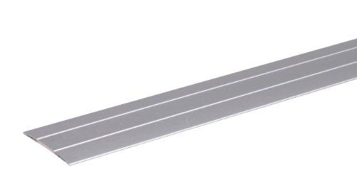 GAH-Alberts 491475 bergangsprofil - selbstklebend, Aluminium, silberfarbig eloxiert, 900 x 38 mm