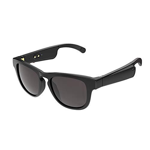 Gafas de sol Bluetooth inalámbricas, con música abierta y manos libres, para hombres y mujeres, lentes polarizadas, compatibles con iPhone/Android