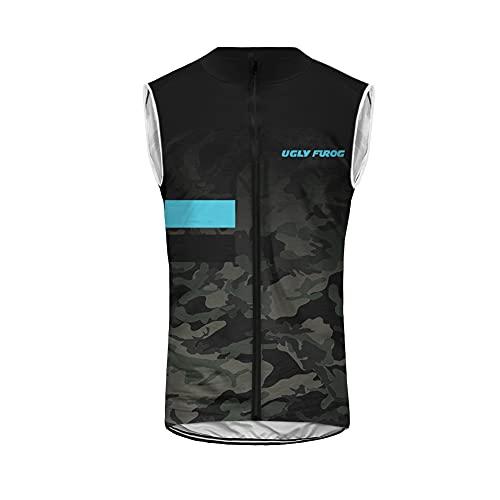 UGLY FROG Sleeveless Magliette Uomo Ciclismo Mountain Bike Cyclng Jersey Top Abbigliamento Ciclismo Estate Style