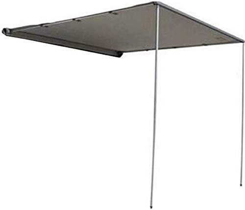 DANCHEL OUTDOOR Retractable Waterproof Camper Awning for Vehicle SUV Overland Offroad Car Tents Grey(5x6.5ft)