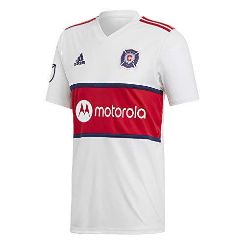 adidas Performance Chicago Fire Trikot Away 2019/2020 Herren weiß/rot, XL