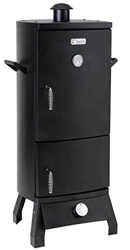 """Tepro Gas-Räucherofen""""Lockport"""", schwarz, 42 x 46 x 104 cm, 3182"""